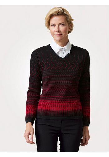 Пуловер с V-образным воротом Mona