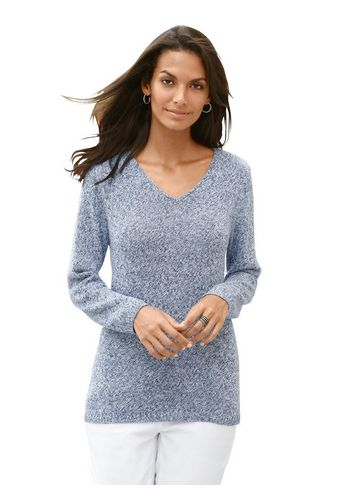 Пуловер с V-образным воротом Casual Looks