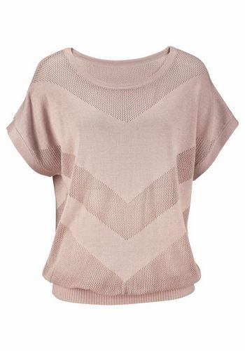 Пуловер с коротким рукавом LASCANA