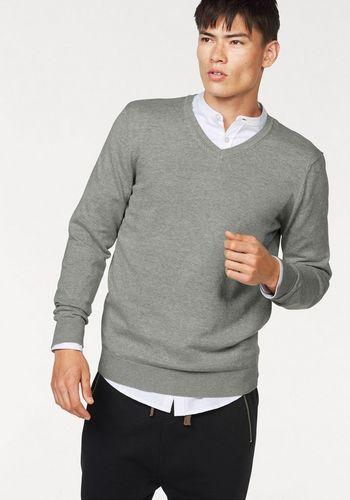 Пуловер с V-воротником John Devin