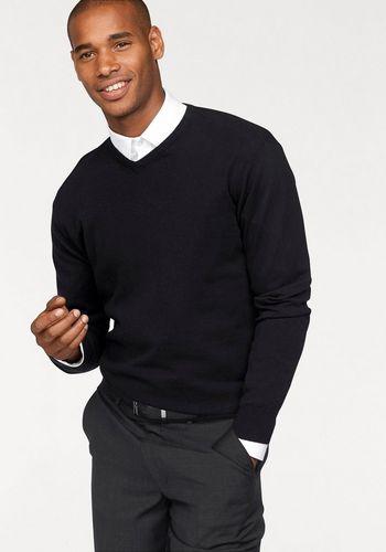Пуловер с V-воротником Class International