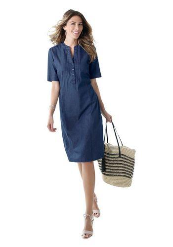 Джинсовое платье Classic Basics