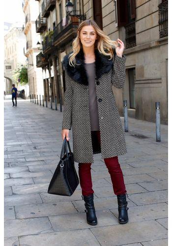 Шерстяное пальто Boysen's