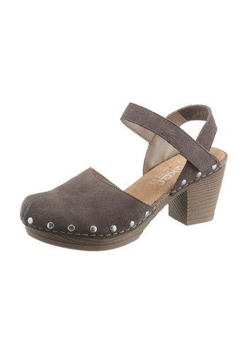 Туфли с открытой пяткой Rieker