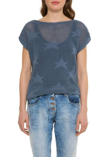 Пуловер с круглым воротом SOCCX