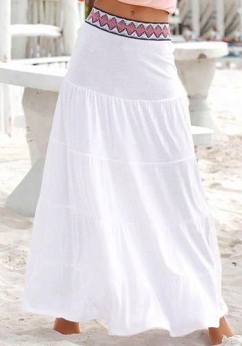 Летняя юбка s.Oliver Beachwear