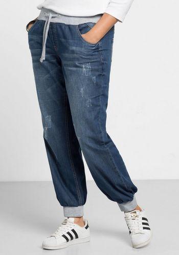 Широкие джинсы Sheego