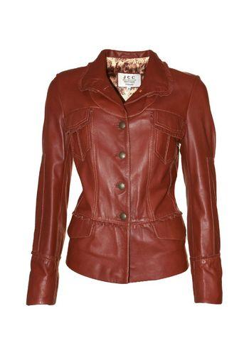 Кожаная куртка JCC