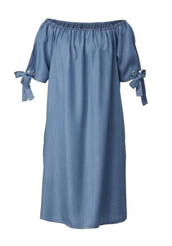 Джинсовое платье Sara Lindholm by Happy Size