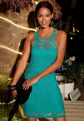 Кружевное платье LASCANA
