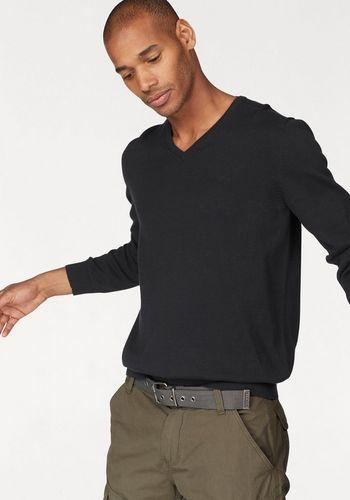 Пуловер с V-воротником s.Oliver