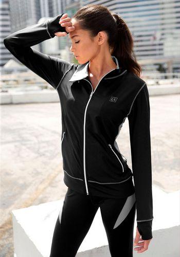 Тренировочная куртка LASCANA ACTIVE