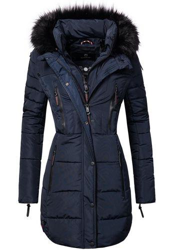 Стеганое пальто Marikoo