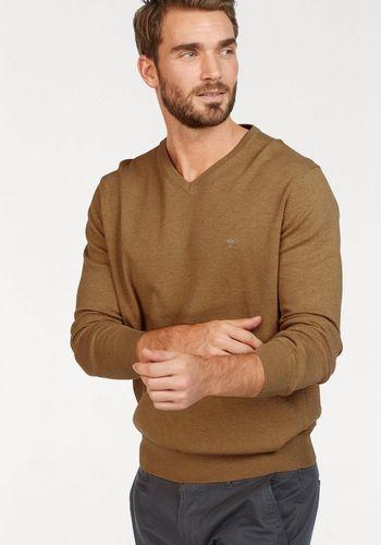 Пуловер с V-воротником FYNCH-HATTON