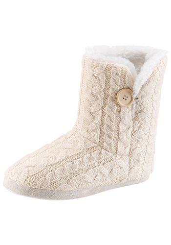Тёплая домашняя обувь CITY WALK