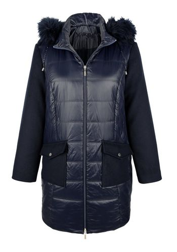 Стеганое пальто MIAMODA
