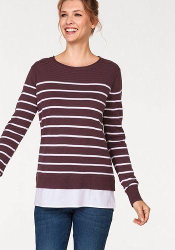 Пуловер с круглым воротом Cheer