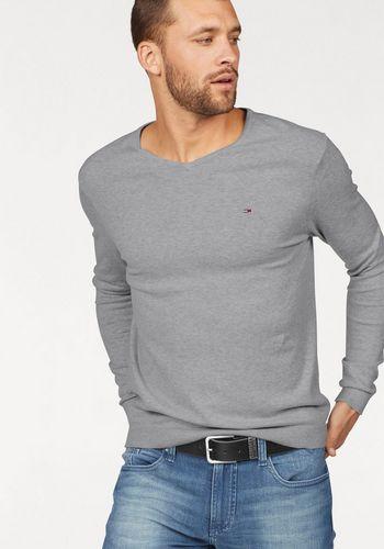 Пуловер с V-воротником TOMMY JEANS