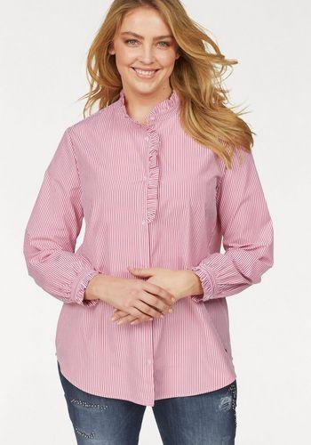 Блузка с рюшами JETTE