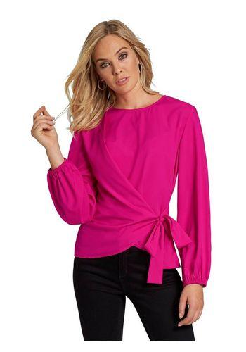 Блуза с запахом creation L
