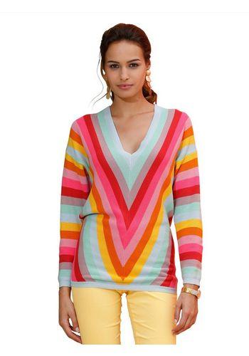 Пуловер с V-образным воротом Amy Vermont