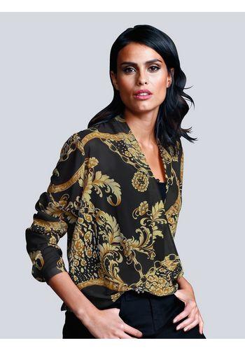 Блуза с запахом Alba Moda