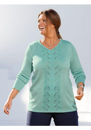 Пуловер с V-образным воротом m. collection