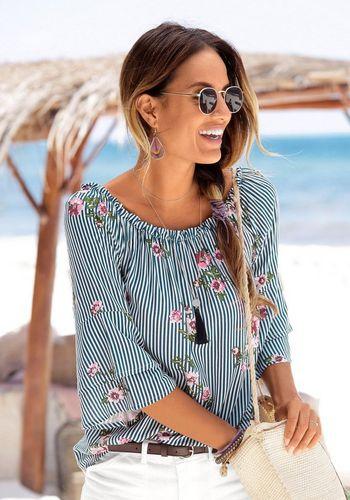 Классическая блузка LASCANA