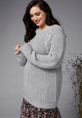 Пуловер GMK Curvy Collection