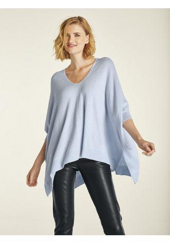 Пуловер с V-образным воротом heine