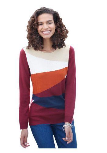 Пуловер с круглым воротом Classic Basics