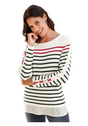 Пуловер в полоску Classic Inspirationen