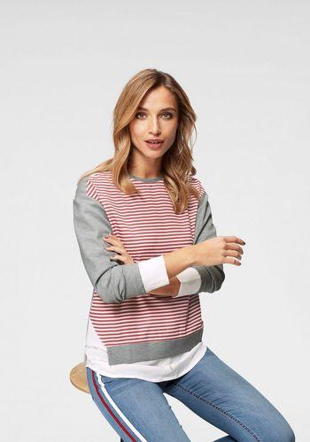 Пуловер с круглым воротом Aniston by BAUR