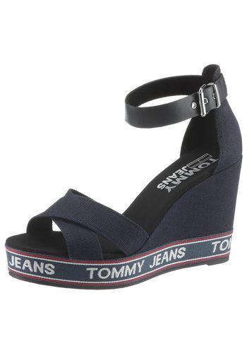 Босоножки на высоком каблуке TOMMY JEANS