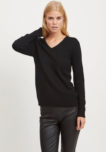 Пуловер с V-образным воротом Vila
