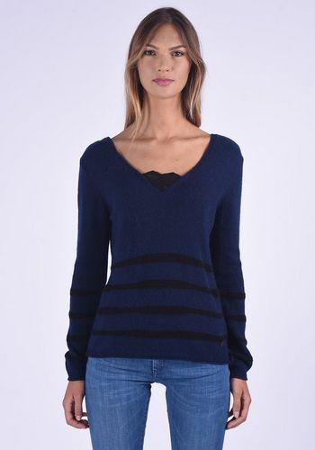 Пуловер в полоску Kaporal