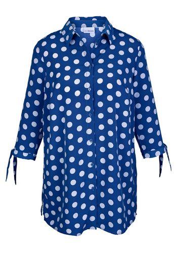 Удлиненная блузка MIAMODA
