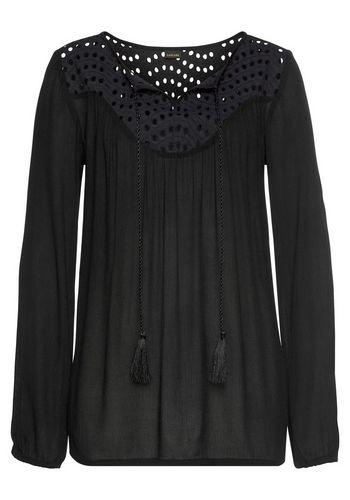Кружевная блуза LASCANA