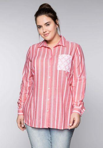 Удлиненная блузка Sheego