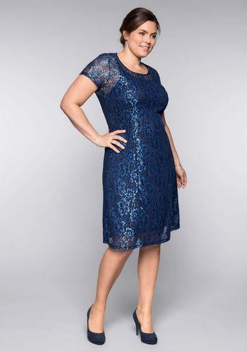 Кружевное платье Sheego
