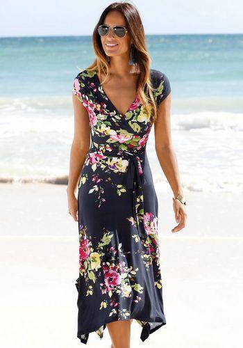 Платье с запахом Beachtime