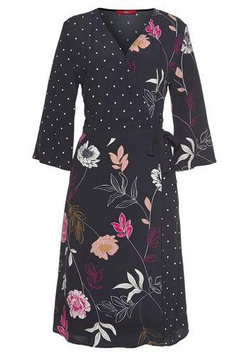 Платье с запахом s.Oliver