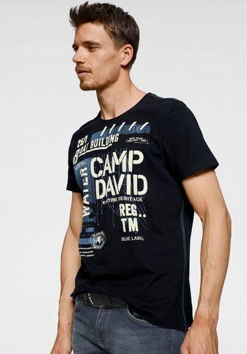 Футболка с коротким рукавом CAMP DAVID