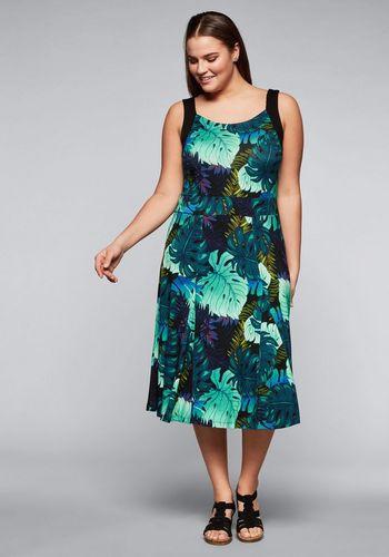 Трикотажное платье sheego by Joe Browns
