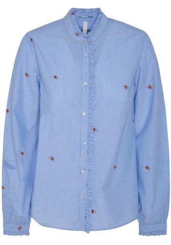 Блузка с рюшами Pepe Jeans