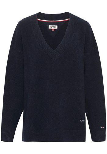 Пуловер с V-образным воротом TOMMY JEANS