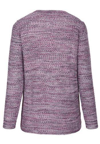 Пуловер с V-образным воротом MIAMODA