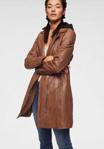 Пальто из кожи и кожезаменителя Gipsy