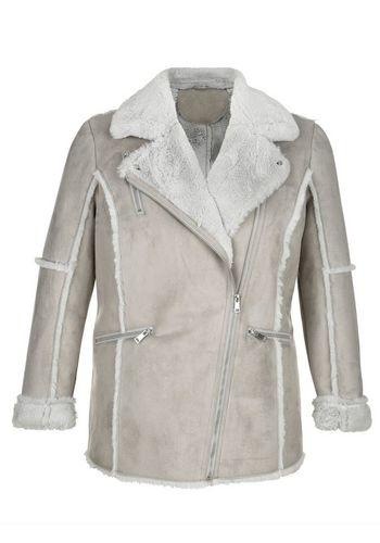 Куртка с искуственным мехом MIAMODA