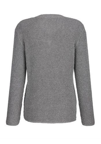 Пуловер с V-образным воротом Paola